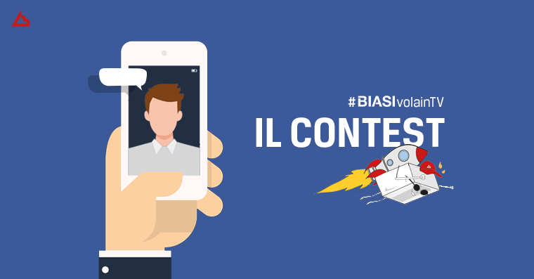 Biasi vola in TV! Il contest